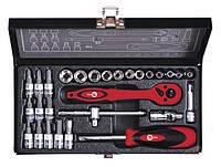 Набор инструментов Intertool (Интертул) ET-6028 28 предметов