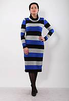 Теплое платье из акрила Karmelita-3.