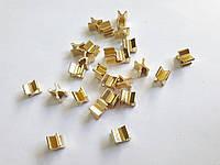 Стопор нижний PERFETTA 5мм золото