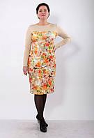 Трикотажное платье PZ 224 б-ц.