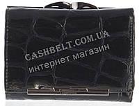 Маленький оригинальный лаковый женский кожаный кошелек высокого качества LE PELICAN art. 8357 A002 черный