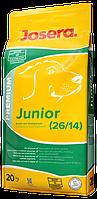 Josera  junior 20кг-сухой корм Premium класса для щенков и молодых собак