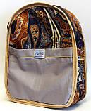 Дитячий джинсовий рюкзак Алекс Мадагаскар, фото 4