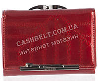 Маленький оригинальный лаковый женский кожаный кошелек высокого качества LE PELICAN art. 8357 C007 красный, фото 1