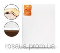 Холст на подрамнике,40x50 см, набор 5шт., среднее зерно, акрил, итальянский хлопок, Unico (БН)