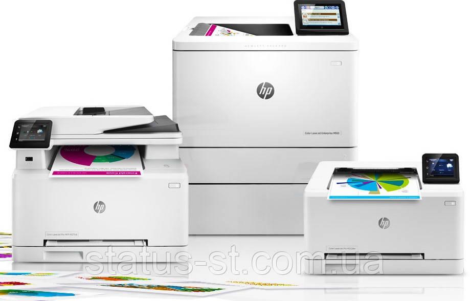 Ремонт принтера HP Color LJ Enterprise M553x/n/dn