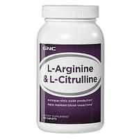 Аминокислоты GNC L-Arginine & L-Citrulline (120 caps)