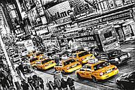 Фотообои на стену: Такси в очереди, 175х115 см