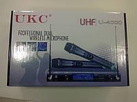 Беспроводной микрофон UKC UHF U-4000