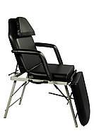 Косметологическая кресло-кушетка для салона красоты, для дома ZD-802AF складная/портативная 3-х секционная