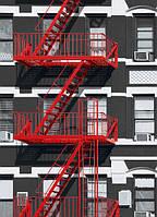 Фотообои: Пожарная лестница, 183х254 см