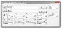 Програмное обеспечение IVECO ALPHANUMERIC CODE CALCULATOR V01