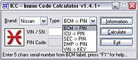 Калькулятор кодов ICC LOGIN-CODE CALCULATOR
