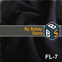Костюмная ткань Florida, костюмка,Черный