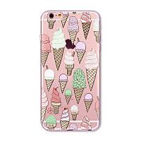 Силиконовый чехол ICE Cream на iphone  6plus 6splus