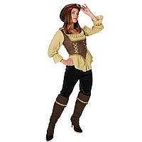 Женский пиратский костюм. Пиратка.