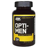 Витамины и минералы Optimum Nutrition Opti-Men (150 tabs)