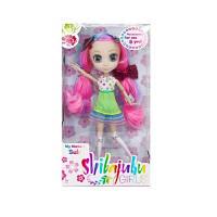 Кукла SHIBAJUKU S1 ЮКИ 33 см 6 точек артикуляции с аксессуарами HUN2178