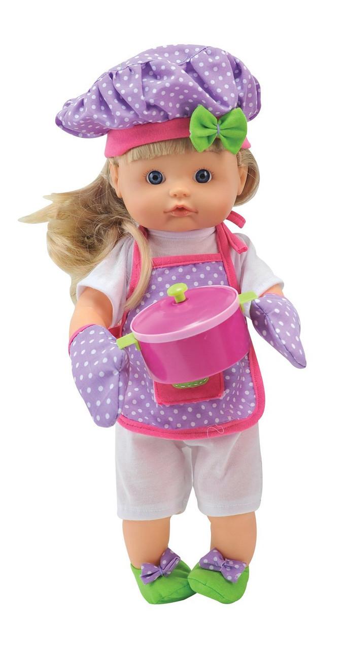 Говорящая кукла Бамболина - Нена Шеф-Повар Bambolina BD1351-50SUA украинская озвучка 42 см