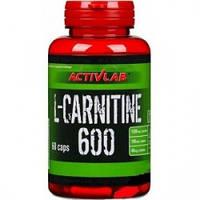 Жиросжигатель Activlab L-Carnitine 600 (60 caps)