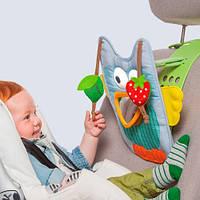 Развивающий центр для автомобиля Музыкальная Сова (звук, свет, родительский контроль) Taf Toys