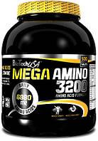 Аминокислоты BioTech Mega Amino 3200 (500 tabs)