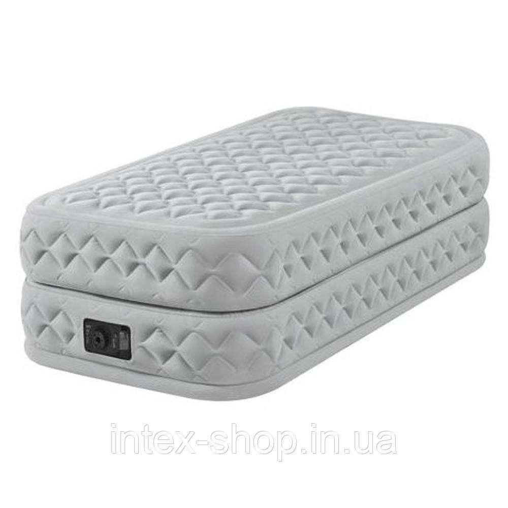 Кровать надувная (99Х191Х51 СМ.) с насосом Intex 64462