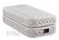 Кровать надувная (99Х191Х51 СМ.) с насосом Intex 64462, фото 3