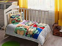Постельное белье для новорожденных TAC Ninja Turtles (Нинзи черепашки)