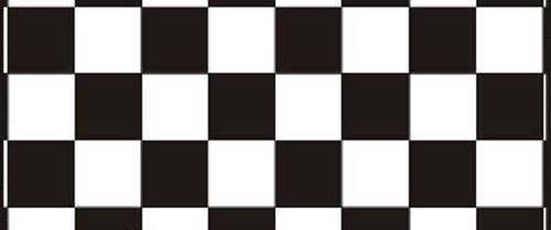 Самоклейка, черный, белый, квадрат,  HONGDA, 45 cm, фото 2