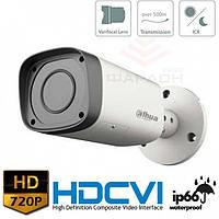 Цилиндрическая HDCVI видеокамера Dahua HAC-HFW1100RP-VF-S3