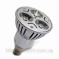 Светодиодная лампа E14 цоколь 3W лед лампочка LED