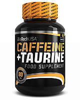 Енергетик BioTech Coffeine+Taurine (60 caps)