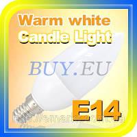 Светодиодная лампа E14 2,5 Ватт лед лампочка