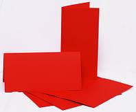 Набор заготовок для открыток 5шт, 10,5х21см, №7, фуксия, 220г/м2, ROSA Talent