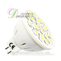 Светодиодные лампы оптом MR16 5 Ватт 12 Вольт лед лампочки