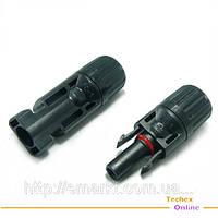 Коннекторы для солнечной батареи и кабеля MC4 Соединители пара