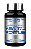 Енергетик Scitec Nutrition Mental Focus (90 caps)