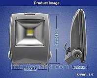 Светодиодный уличный фонарь прожектор 50 Ватт лед уличное освщение