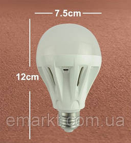Светодиодная лампочка E27 цоколь 10W