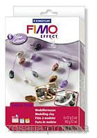 Набор для изготовления бижутерии ''Glam Colours'',  6колx57г, FIMO