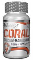 Витамины и минералы BioTech Coral Calcium - Magnesium (100 tabs)