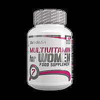 Витамины и минералы для женщин BioTech Multivitamin for Women (60 tabs)