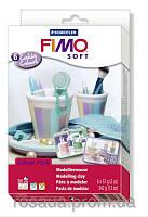 Набор для изготовления бижутерии ''Сandy Colours'',  6колx57г, FIMO