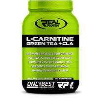 Жиросжигатель Real Pharm L-Carnitine Green Tea+CLA (90tabs)