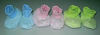 Пинетки махровые для новорожденных ТМ Фламинго