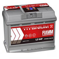 Аккумулятор 6СТ- 64 правый + Fiamm TITANIUM PRO 610А R