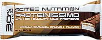 Заменитель питания Scitec Nutrition Proteinissimo Bar(vanila caramel crunch 50 g)