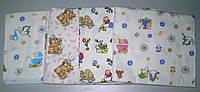 Пеленка фланель 110х90, детские пеленки, пеленки для новорожденных
