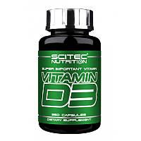 Витамины и минералы Scitec Nutrition Vitamin-D3 (250 caps)